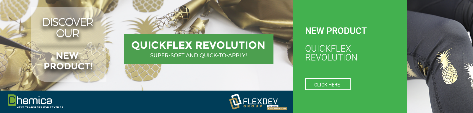 QuickFlex Revolution! New product