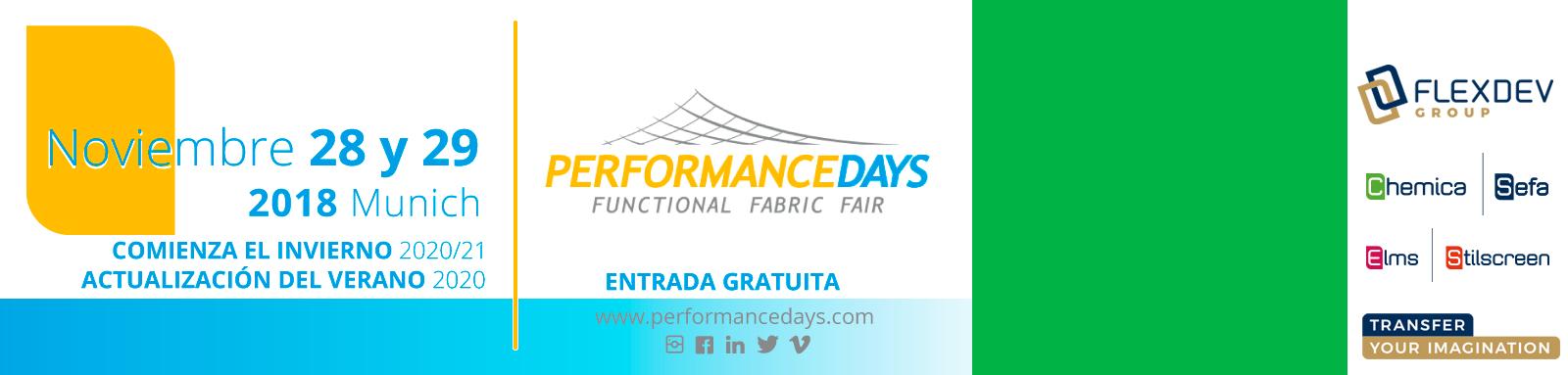 """Flex Dev estará presente en la feria """"performance day"""" el 28 y 29 de Noviembre 2018"""
