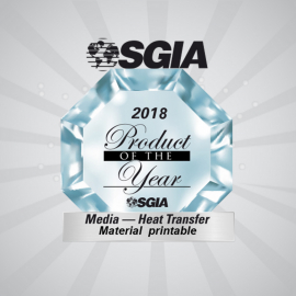 Chemica wins the SGIA product of the year award !